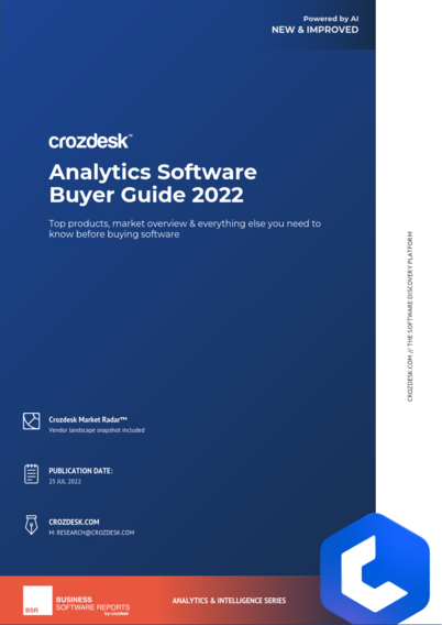 Analytics Software Buyer Guide 2019