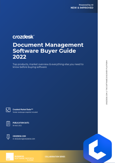 Document Management Software Buyer Guide 2019