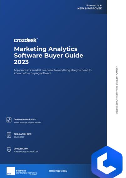 Marketing Analytics Software Buyer Guide 2019