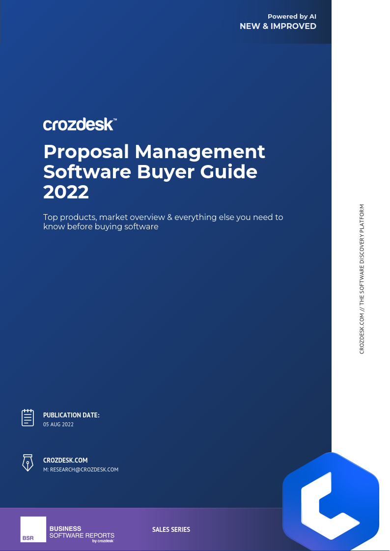 PDF] Proposal Management Software Buyer Guide 2019