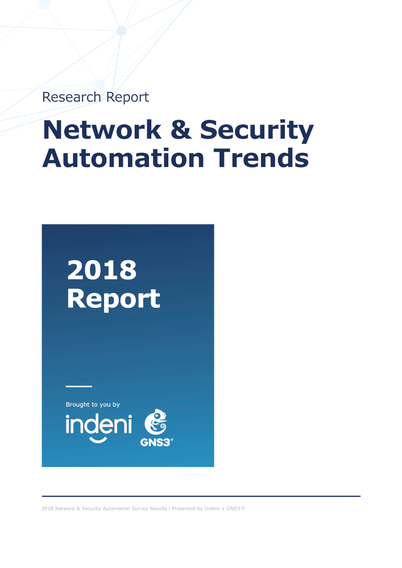 Network & Security Automation Trends 2018