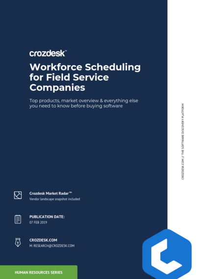Workforce Scheduling for Field Service Companies
