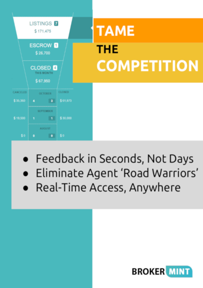 Tame The Competition Report