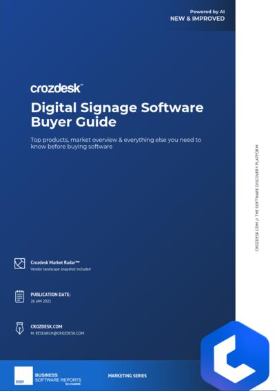 Digital Signage Software Buyer Guide