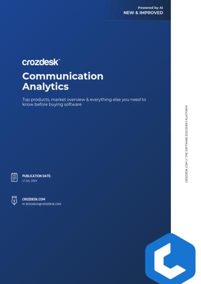 Communication Analytics Buyers Guide 2019