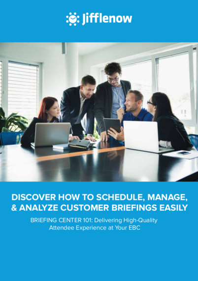 Briefing Center 101: Delivering High-Quality Attendee Experience at Your EBC