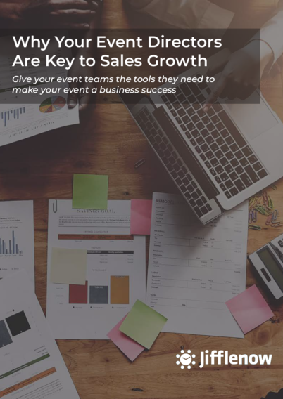 "Whitepaper on ""Why Your Event Directors Are Key to Sales Growth"""
