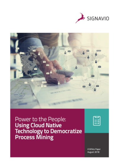 Using Cloud Native Technology to Democratize Process Mining