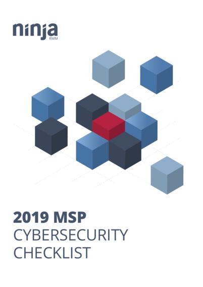 2019 MSP Cybersecurity Checklist