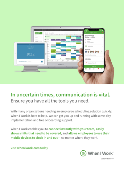 Employee Communication in Uncertain Times - Remote Work in Healthcare Case Studies