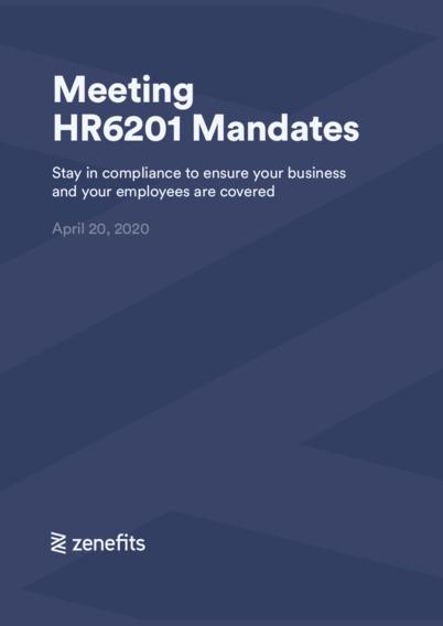 Meeting HR6201 Mandates Guide
