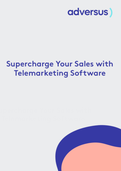 Supercharge Your Sales with Telemarketing Software Whitepaper