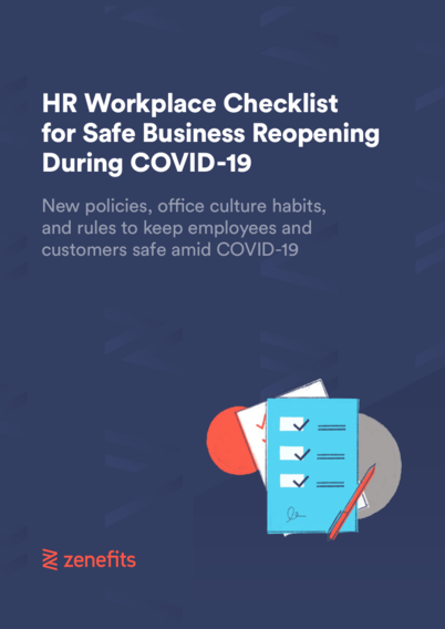 HR Workplace Checklist for Safe Business Reopening During COVID-19