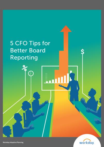 5 CFO Tips for Better Board Reporting Whitepaper