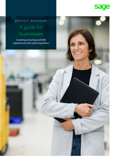 A guide for businesses: Creating amazing work-life experiences that work anywhere Report