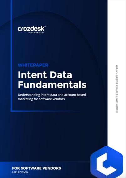 Intent Data Fundamentals For Software Vendors 2021