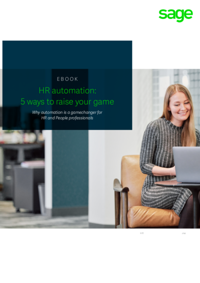 HR Automation: 5 Ways to Raise Your Game Whitepaper
