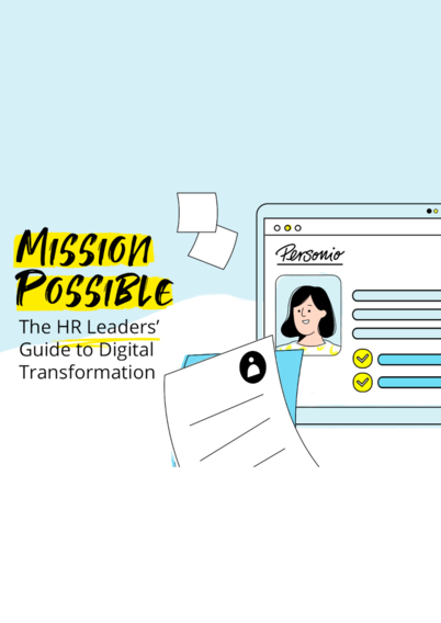 Mission Possible: The HR Leaders' Guide to Digital Transformation Whitepaper