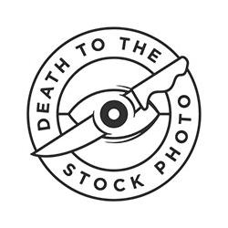 Deathtothestockphoto logo