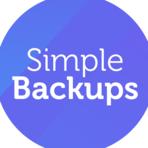 SimpleBackups screenshot