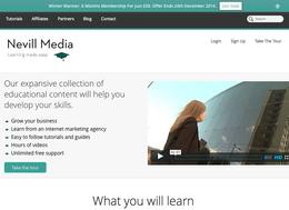Nevill Media screenshot
