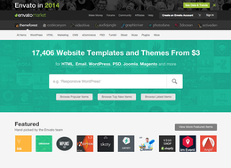 ThemeForest screenshot