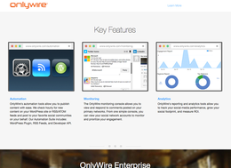 OnlyWire screenshot