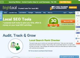 BrightLocal screenshot