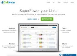 ClickMeter screenshot