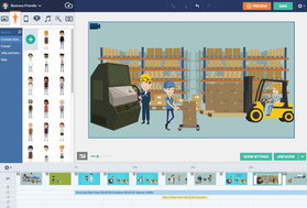 GoAnimate screenshot