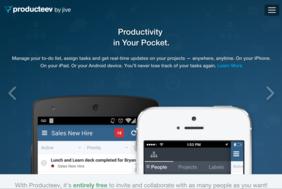 Producteev screenshot