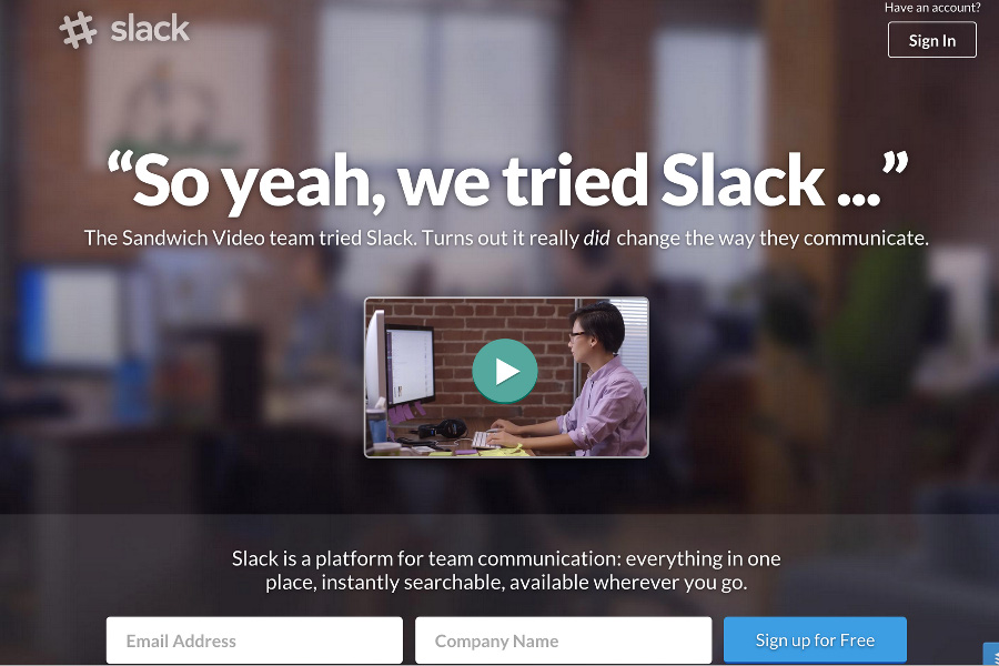 Instant Messaging Slack : Slack reviews pricing and alternatives crozdesk