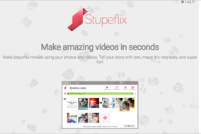 Stupeflix Studio screenshot