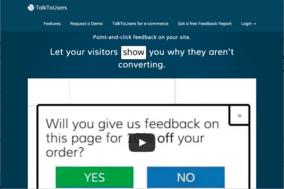 TalkToUsers screenshot