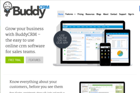 BuddyCRM screenshot