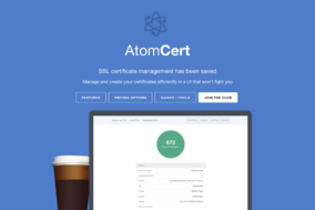 AtomCert screenshot