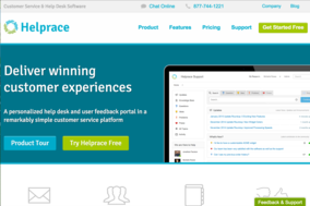 Helprace screenshot