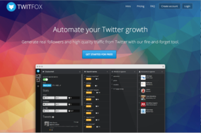 Twitfox screenshot