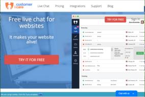 Customericare screenshot