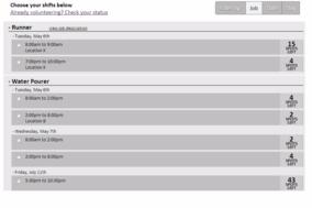 VolunteerLocal screenshot