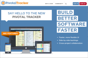 PivotalTracker screenshot
