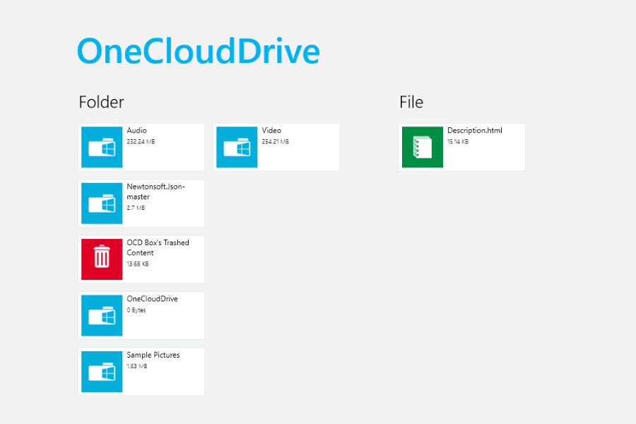 OneCloudDrive