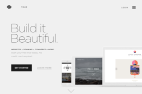 Squarespace screenshot