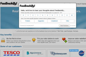 Feedbackify screenshot