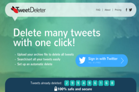TweetDeleter screenshot