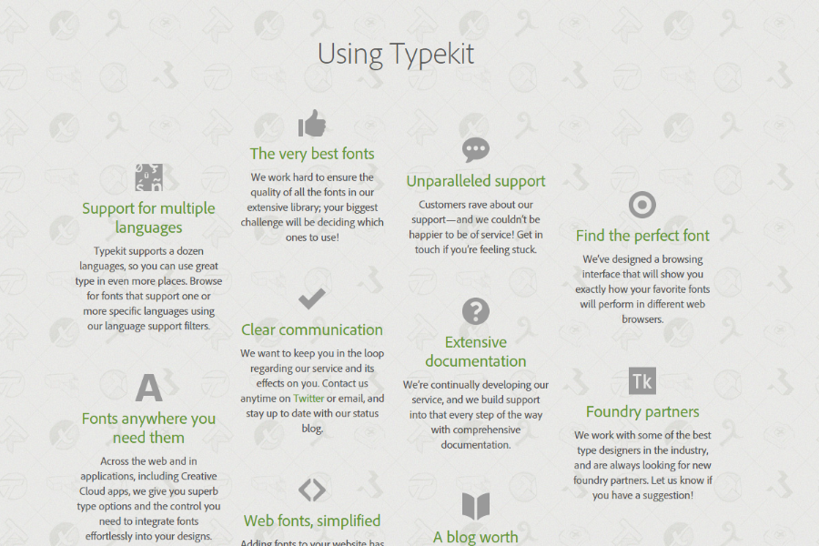 Typekit Reviews, Pricing and Alternatives