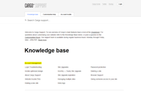 Cargo Collective screenshot