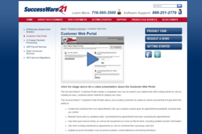 SuccessWare 21 screenshot
