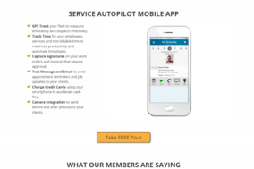 Service Autopilot screenshot