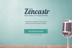 Zencastr screenshot